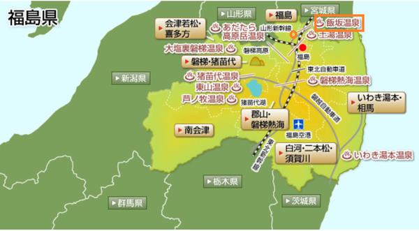 iizaka onsen map fukusima erea.png